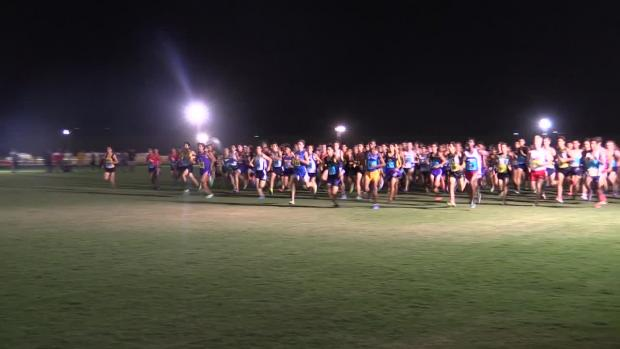 Varsity Boys Sweepstakes Race Woodbridge Cross Country Classic