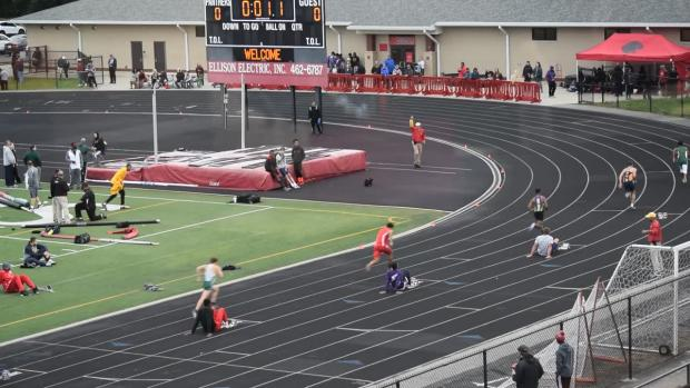 north central college track meet results