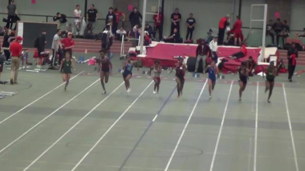 Girls 55 Dash Finals Dasia Pressley Pennsbury Pa 1 7 09 14th