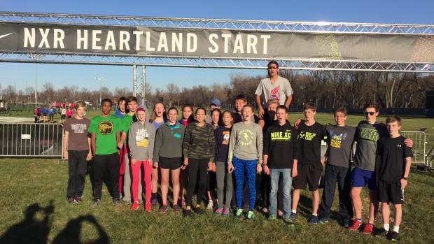 NIKE Cross Regional Heartland 2017 Sioux Falls, SD Rising Stars 5K Boys Cross Country Race