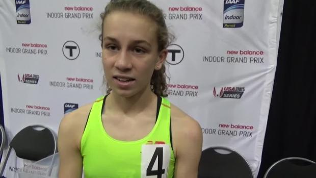 new balance indoor grand prix junior mile