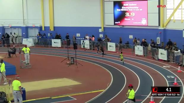 Boys 400 Finals Section 6 - 7-8 Year Old | AAU Indoor Nationals