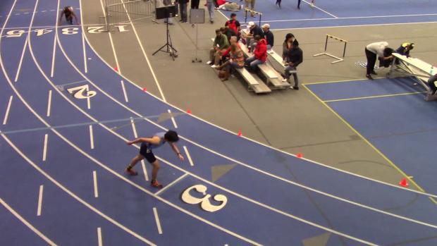 Boys 400 Finals Section 6 Franklin Marshall High School