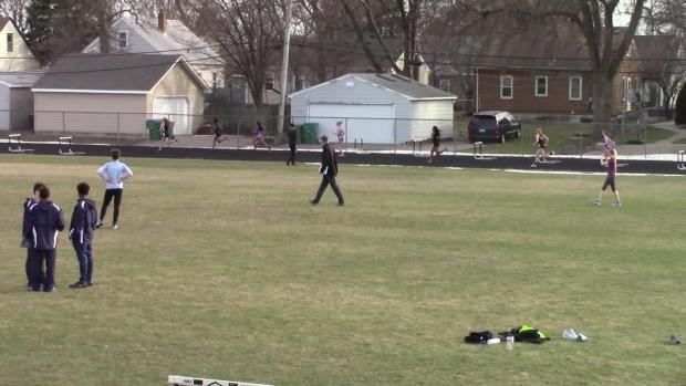 Girls 300 Hurdles Finals Section 1   Saint Louis Park