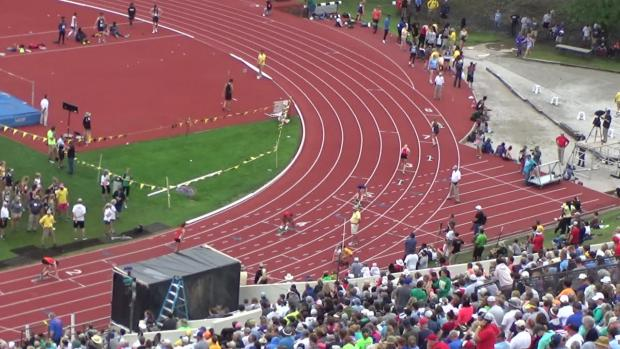 4A Girls 400 Finals Section 1 | Kansas State Track and ...